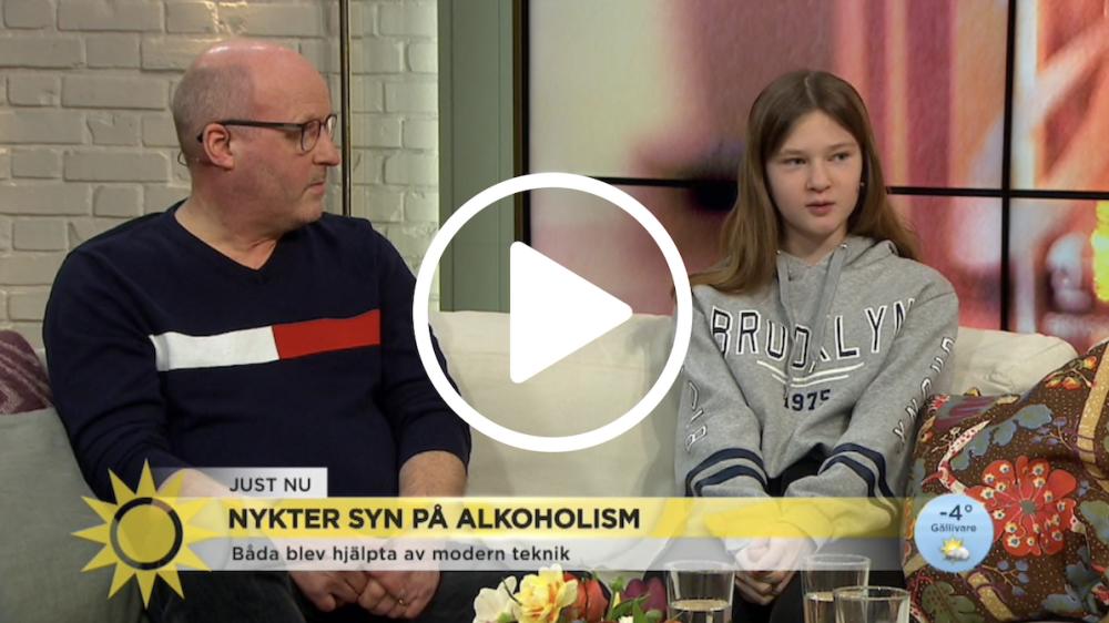 Så hjälper appen alkoholister att hålla sig nyktra