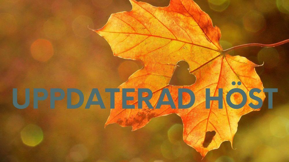 Vi välkomnar hösten med spännande nyheter i Previct®